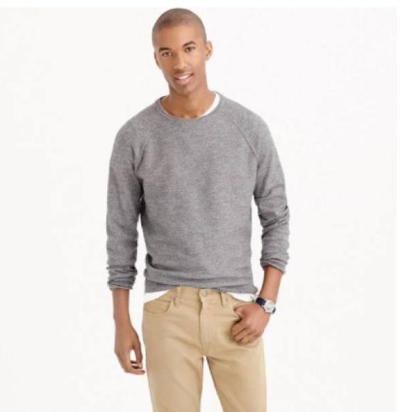 b290da6ca J.Crew Mens Slim Rugged Cotton Sweater (Size M)